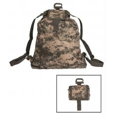 Skládací batoh MilTec Roll-Up / 21x10x6cm AT-Digital