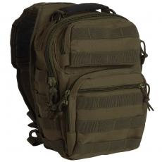 Batoh přes rameno MilTec One Strap Assault Pack Small / 10L / 30x22x13cm Green