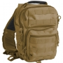Batoh přes rameno MilTec One Strap Assault Pack Small / 10L / 30x22x13cm Coyote
