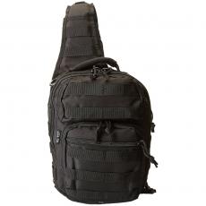 Batoh přes rameno MilTec One Strap Assault Pack Small / 10L / 30x22x13cm Black