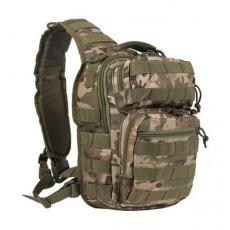 Batoh přes rameno MilTec One Strap Assault Pack Small / 10L / 30x22x13cm Multitarn