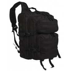 Batoh přes rameno MilTec One Strap Assault Pack Large / 29L / 48x33x27cm Black