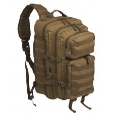 Batoh přes rameno MilTec One Strap Assault Pack Large / 29L / 48x33x27cm Coyote