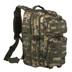 Batoh přes rameno MilTec One Strap Assault Pack Large (140592) / 29L / 48x33x27cm Multitarn