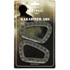 Karabina MilTec ABS / 8,3cm Gray