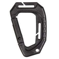 Karabina MilTec Tactical MOLLE (2 ks.) / 9,3cm Black