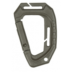 Karabina MilTec Tactical MOLLE (2 ks.) / 9,3cm Green