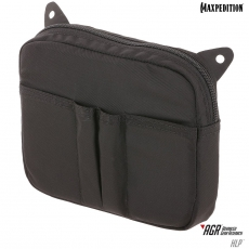 Pouzdro na suchý zip Maxpedition Hook & Loop Pouch (HLP) / 17x15 cm Black