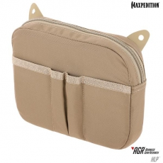 Pouzdro na suchý zip Maxpedition Hook & Loop Pouch (HLP) / 17x15 cm Tan