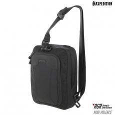 Taška přes rameno Maxpedition Mini Valence (MVL) AGR / 7L / 24x13x32 cm Black