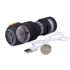 Čelovka Armytek Tiara C1 Pro XP-L Magnet USB / Teplá bílá / 980lm (30min) / 102m / 11