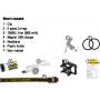 Čelovka Armytek Tiara C1 Pro XP-L Magnet USB / Studená  bílá / 1050lm (30min) / 106m / 11 režimů / IP68 / Včetně Li-ion 18350 / 60gr