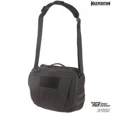 Taška Maxpedition AGR Skyridge Tech Messenger Bag 12.5L / 38x20x28 cm Black