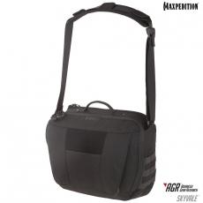 Taška Maxpedition Skyvale Tech Messenger Bag 16L AGR / 46x20x35 cm Black