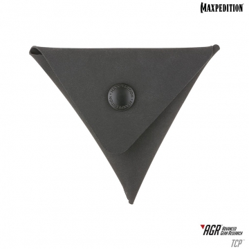 Peněženka Maxpedition TCP Triangle Coin Pouch AGR / 10x9 cm Black