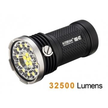 Svítilna Acebeam X80-GT / Studená bílá / 32500lm (1min+1.7h) / 369m / 8 režimů / IPx8 / Včetně 4xLi-Ion 18650 / 330gr