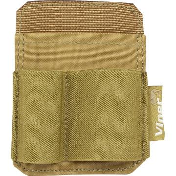 Pouzdro na suchý zip na příslušenství Viper Tactical Accessory Holder Patch (VACCHP) / 10x7.5 cm Coyote