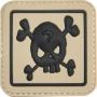Nášivka na suchý zip Viper Tactical Morale Patch Skull / 5x5cm