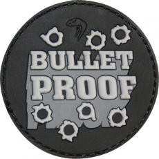 Nášivka na suchý zip Viper Tactical Morale Patch Bullet Proof / 5x5cm