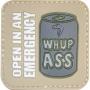 Nášivka na suchý zip Viper Tactical Morale Patch Whupass / 5x5cm