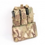 MOLLE kompatibilní panel Viper Tactical Assault Panel / 28x37x9 cm Dark Coyote