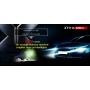 Svítilna Klarus XT11X USB / Studená bílá / 3200lm (0.75h) / 283m / 6 režimů / IPx8 / včetně 18650 Li-Ion / 136gr