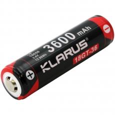 Baterie dobíjecí, chráněné Klarus 18GT-36 18650 3600mAh