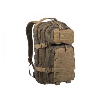 Batoh MilTec Ranger US Assault S / 20L / 42x20x25cm Green Coyote