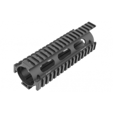 Předpažbí UTG PRO M4/AR15 Carbine Length Drop-in Quad Rail with Extension (MTU001T)