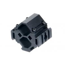 Montáž na hlaveň 19-28mm UTG MNT-BR003XL 3-rail / 3 Sloty