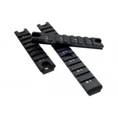 RIS lišty (sada 3ks) UTG MNT-P503 G36 Picatinny Rail Set