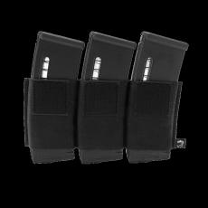 Elastické trojité pouzdro na zásobníky na suchý zip Viper Tactical VX Triple Rifle Mag... Black