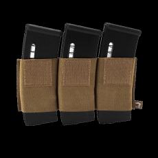 Elastické trojité pouzdro na zásobníky na suchý zip Viper Tactical VX Triple Rifle Mag... Dark Coyote