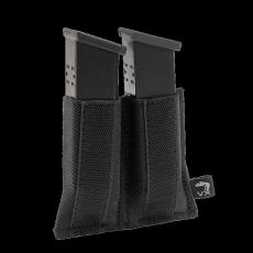 Elastické pouzdro na zásobníky  na suchý zip Viper Tactical VX Double Pistol Mag Sleeve Black