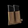 Elastická  sumka na zásobníky do pistole na suchý zip Viper Tactical VX Double Pistol Mag... Dark Coyote