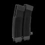 Elasticka sumka na zásobníky SMG na suchý zip Viper Tactical VX Double SMG Mag Sleeve Black