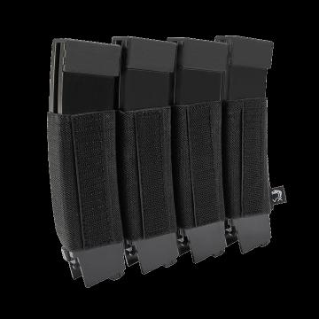Elastická sumka na zásobníky SMG na suchý zip Viper Tactical VX Quad SMG Mag Sleeve Black