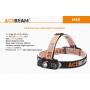 Čelovka Acebeam H40 / Studená bílá / 1050lm (1min+40min) / 102m / 4 režimů / IPx8 / AA / 34gr