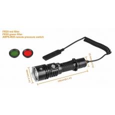 Svítilna Acebeam L16 (sada) USB / 6000K / 2000lm (2.2h) / 603m / 5 režimů / IPx8 / Včetně
