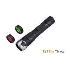 Laserová svítilna Acebeam W10 Gen II / 6500K / 450lm (3.5h) / 1217m / IP68 / Včetně