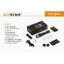 Laserová svítilna Acebeam W10 Gen II / 6500K / 450lm (3.5h) / 1217m / IP68 / Včetně Li-Ion 21700 / 128gr