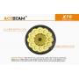 Svítilna Acebeam X70  / Studená bílá / 60000lm (55sec+50min) / 1115m / 6 režimů / IPx8 / Včetně Li-Ion batterie / 1819gr