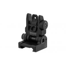 Odpružené sklopné hledí pro AR15/M4/M16 UTG ACCU-SYNC Spring-loaded Flip-up Rear Sight