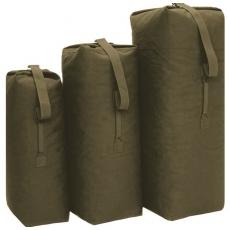 Sumka MilTec US COTTON DUFFLE BAG Small 50L /  87x48cm Green