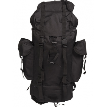 Batoh MilTec GERMAN IMPORT LARGE RUCKSACK 35 L / 31x17x56cm Black