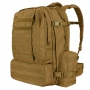 Batoh Condor 3 DAY ASSAULT PACK / 50L / 55x43x28 cm Coyote Brown