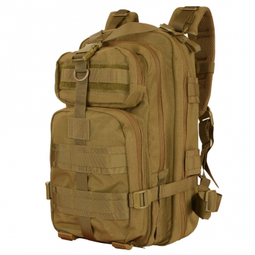 Batoh Condor COMPACT ASSAULT PACK / 22L / 46x25x25 cm Coyote Brown