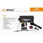 Laserová svítilna Acebeam W30 / 4000K / 500lm (1h45m) / 2408m / 1 režim / IPx8 100m / Včetně Li-Ion 21700mAh / 248gr