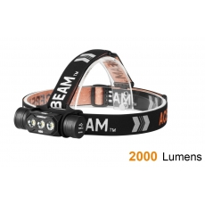 Čelovka Acebeam H50 USB  / 6500K / 2000lm (2.4h) / 137m / 6 režimů / IPx8 / Li-ion 18650
