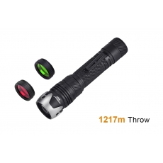 Laserová svítilna Acebeam W10 GEN II / 4000K / 450lm (3.5h) / 1217m / IP68 / Včetně